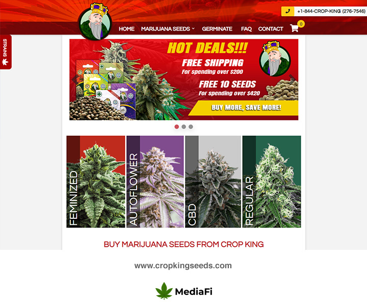 Crop King Seed