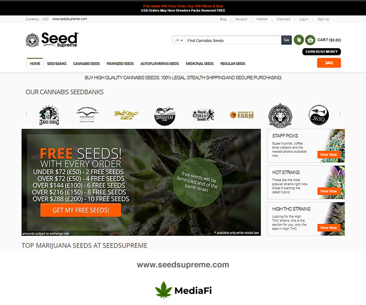 Seed Supreme SeedBank