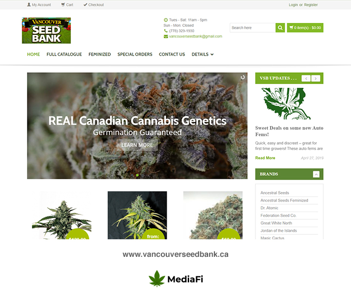 Vancouver Seed Bank Review