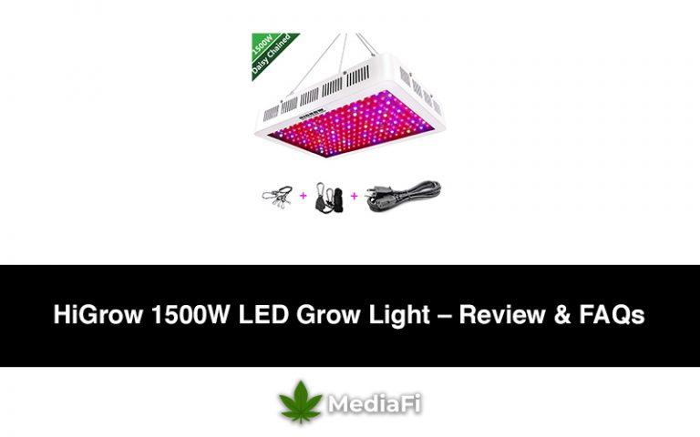 HiGrow 1500W LED Grow Light