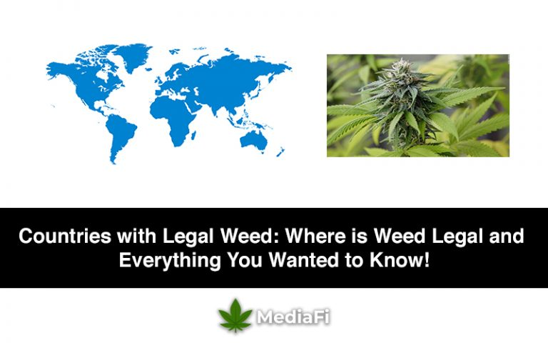 Countries with Legal Weed