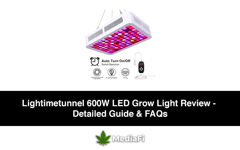 Lightimetunnel 600W LED Grow Light