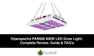 Viparspectra PAR600 600W LED Grow Light