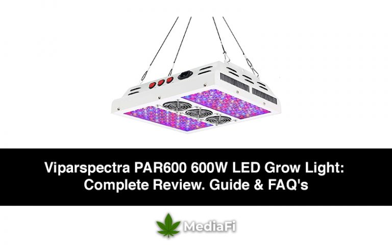 Viparspectra PAR600 600W LED Grow Light