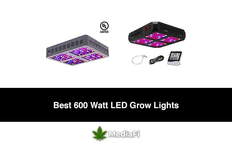 Best 600 Watt LED Grow Lights