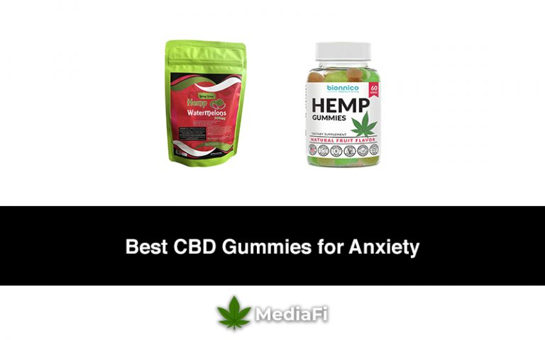 Best CBD Gummies for Anxiety