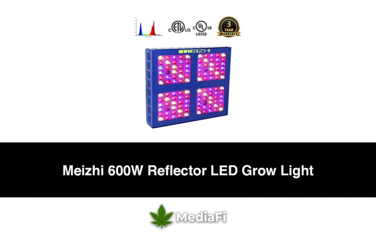 Meizhi 600W Reflector LED Grow Light